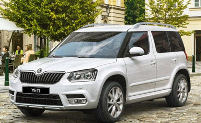 VW отзывает 117 Шкода Yeti в Российской Федерации из-за отсутствия левого усилителя стойки