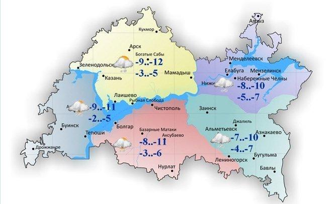 Синоптики опогоде вближайшие дни: Лютые морозы иснег