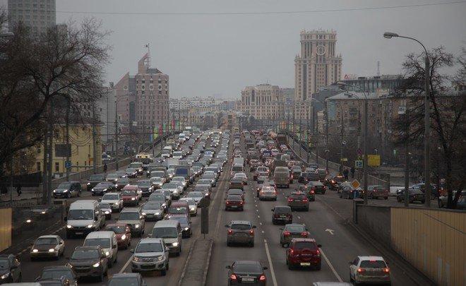 Российскую столицу признали самым страдающим отпробок европейским городом
