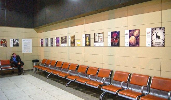 В аэропорту Казани организовали выставку в честь Стивена Кинга