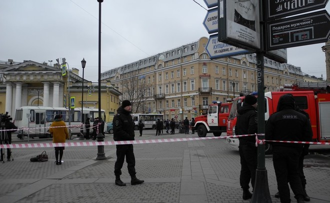 Обновленная версия: Бомба впетербургском метро сработала случайно