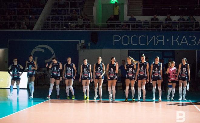 Казанское «Динамо» завоевало Кубок ЕКВ
