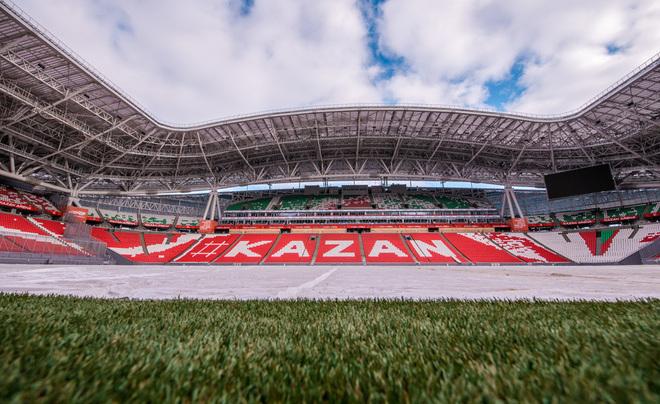 «Казань-Арена» допущена кпроведению матчей чемпионата Российской Федерации