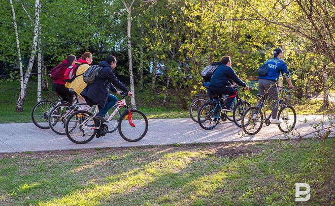 ВКазани велодорожную сеть построят за643 млн