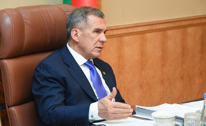 Рустам Минниханов учавствует в совещании Федерального экологического совета