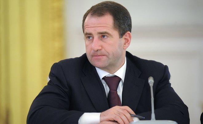 Бабич иМинниханов открыли вТюлячинском районеРТ новый ледовый дворец