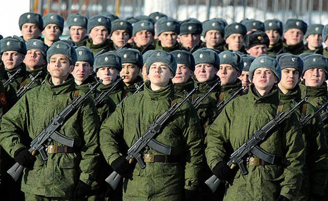 В русских войсках появились супермаркеты