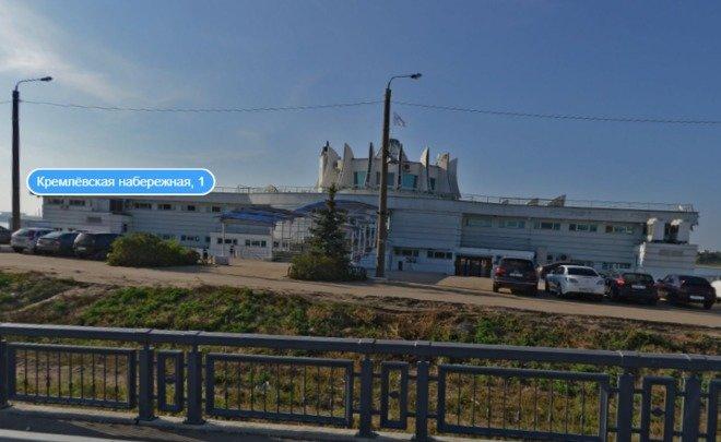 Ресторан «Парус» наКремлевской набережной выставили на реализацию