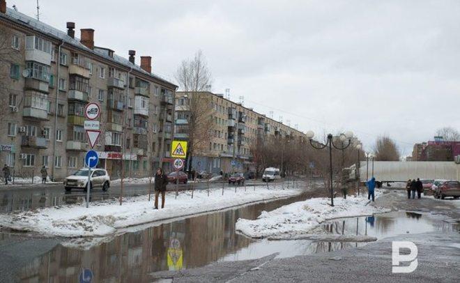 ВКазани началась подготовка квесеннему паводку
