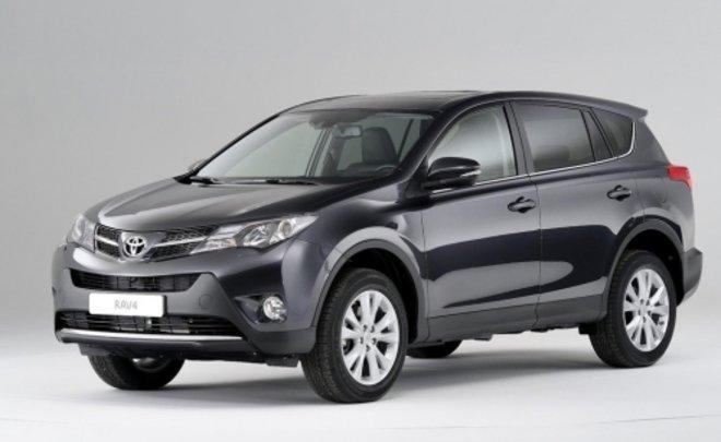 Toyota завершит выпуск RAV4 в России