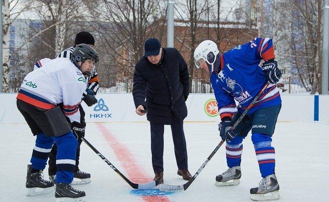 Гендиректор НКНХ Айрат Сафин: «Мы делаем все, чтобы каждый мальчишка во дворе своего дома мог играть в хоккей»