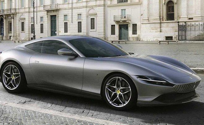 Ferrari показала новое купе Roma