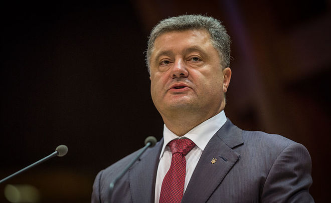 Запад должен усилить санкции противРФ вслучае провала Минска-2— Порошенко
