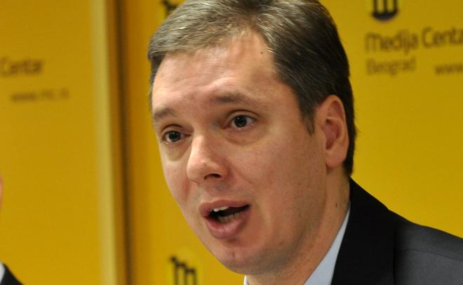 Напрезидентских выборах вСербии выигрывает  премьер Александр Вучич