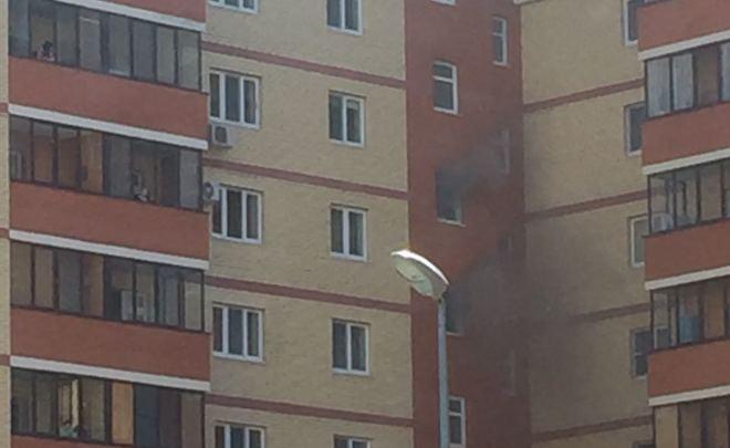 ВКазани наДубравной из-за пожара вжилом доме эвакуировали 15 человек