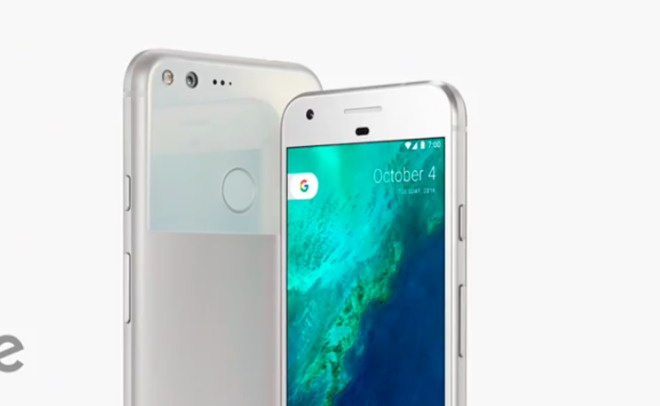Google презентовала собственный смартфон Pixel