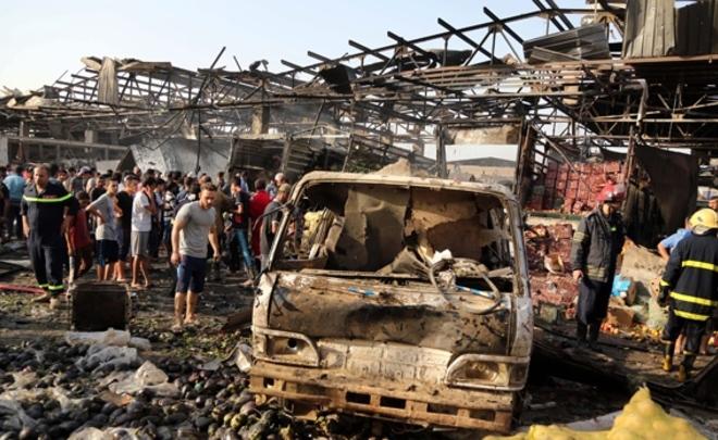 Взрыв произошел вцентре Багдада, есть погибшие