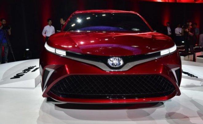 Toyota представила на автосалоне в Шанхае концепт нового седана Fun