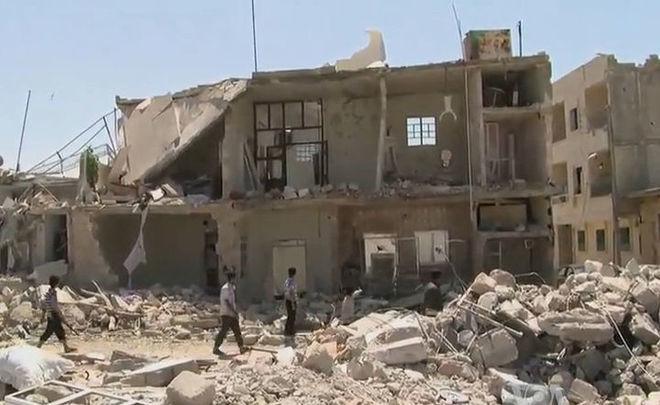 Сирийские боевики применяют иприт против мирного населения вАлеппо— специалисты