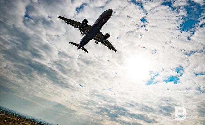 Аэропорт Уфы закрыт из-за выката самолета запределы посадочной полосы