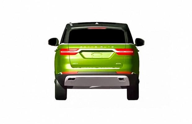 Китайская Zotye построила Range Rover «для бедных»