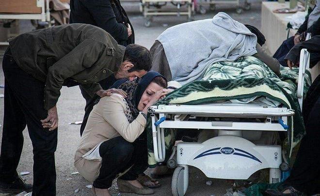 Число жертв  при землетрясении награнице Ирана иИрака достигло 530 человек