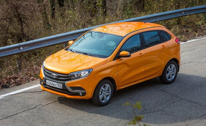Татарстан попал в тройку регионов-лидеров по продажам хэчбека Lada Xray
