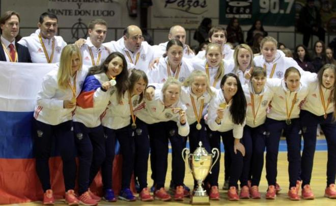 Женская сборная Российской Федерации помини-футболу стала победителем Турнира четырех наций