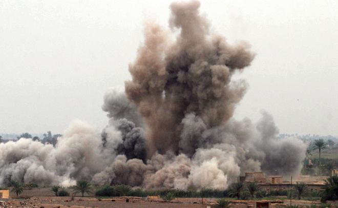 При ударе коалиции поскладуИГ вСирии погибли сотни человек