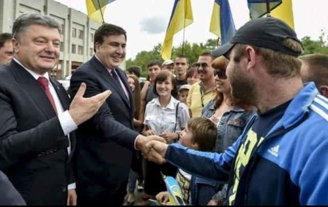 Саакашвили рассчитывает, что Порошенко неотдаст его Грузии