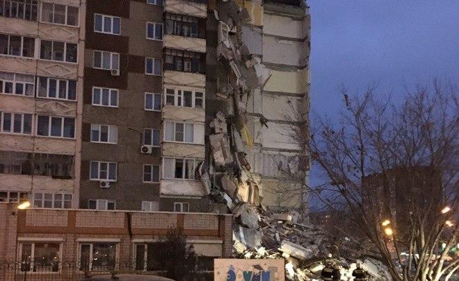 Взрыв дома вИжевске. Разбор завалов остановили из-за угрозы для людей
