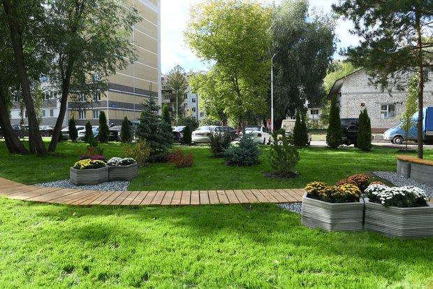 В Казани в одном из дворов организовали участок для общественного огорода