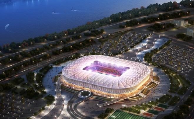 ФИФА признала стадион вРостове непригодным для толстых болельщиков