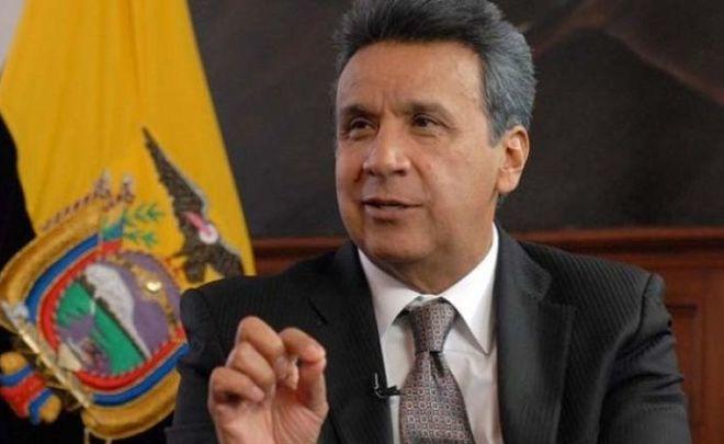 Ленин Морено официально стал президентом Эквадора