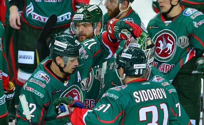 Казанский «АкБарс» получит отКХЛ неменее  14 млн руб.