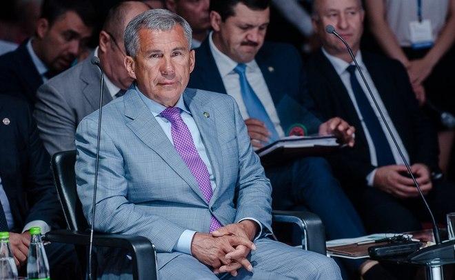 Санатор для Татфондбанка пока ненайден— Рустам Минниханов