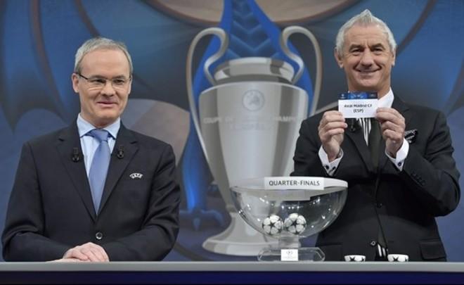 Определились четвертьфинальные пары Лиги чемпионов
