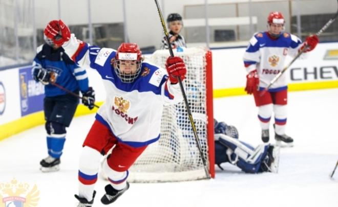 Женская сборная Российской Федерации пропустила восемь шайб вматчеЧМ похоккею