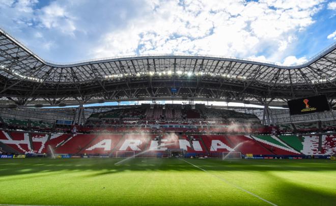 «Казань Арена»— 1-ый в Российской Федерации стадион, соответствующий эко-стандартам ФОТО