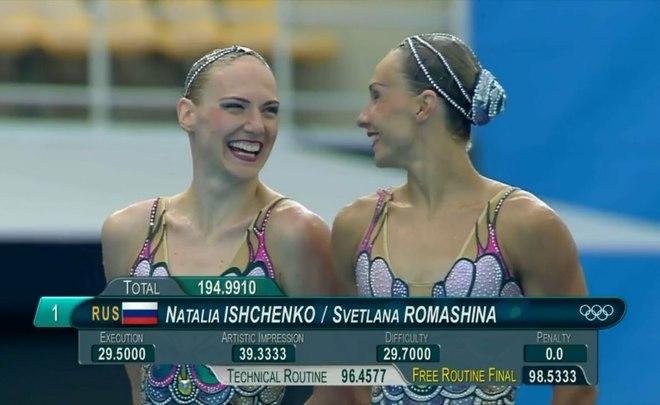 Пятикратные олимпийские чемпионки Ромашина иИщенко остановили карьеру