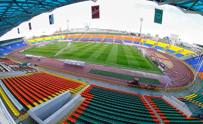 «Рубин» начнет новый сезон на Центральном стадионе