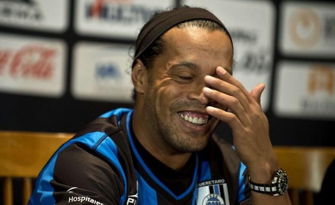 Роналдиньо примет участие воткрытии парка Кубка конфедераций вКазани