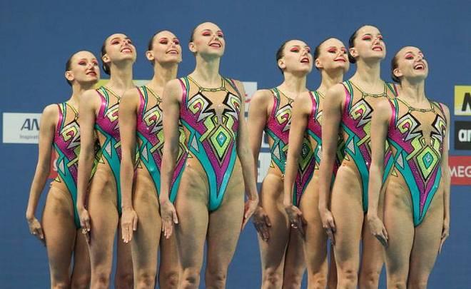сборная россии по синхронному плаванию фото