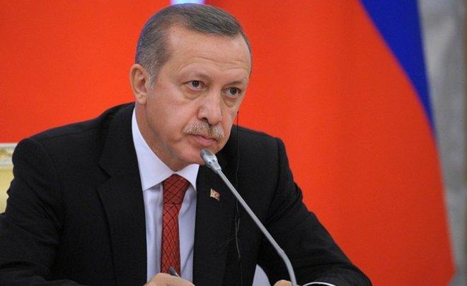 Эрдоган объявил одоказательствах поддержкиИГ коалицией воглаве сСША