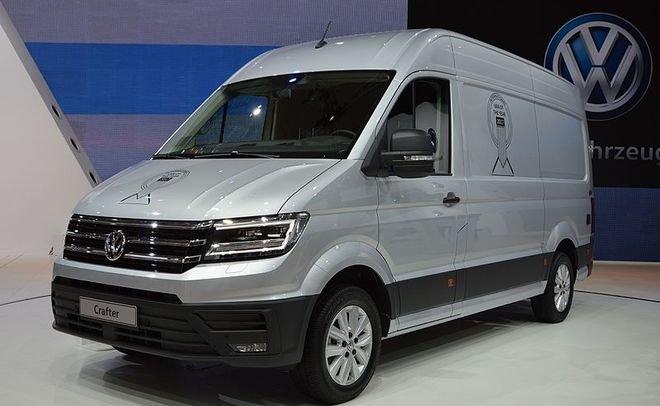 Volkswagen объявил об отзыве фургонов Crafter NF в России