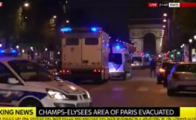 Обвинитель Парижа: стрелявший вполицейских— террорист