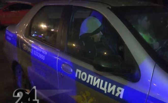 Милиция Казани устроила погоню заводителем